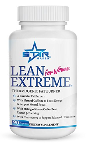 Lean Extreme Keto Weight Loss Diet Pills and Thermogenic Fat Burner for Women - 4X More Green Coffee Bean, Appetite Suppressant & Energy Booster, Supports Balanced Hormones, 90-Count