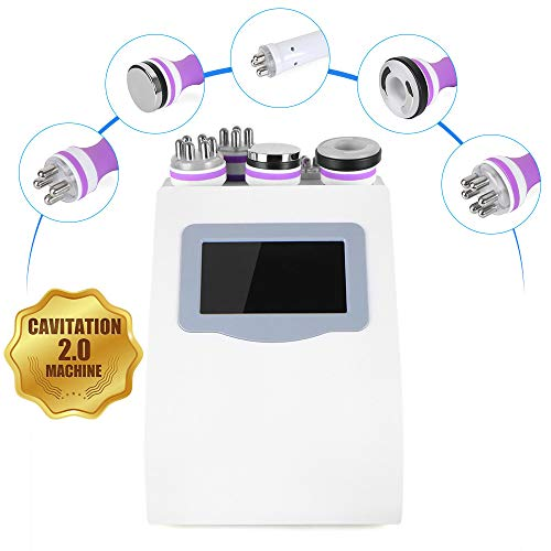 5 in 1 RF RF Face & Body Slimming & Shaping 3D Smart Technology Treatment Device Machine [US Warranty & US Based Tech Support]