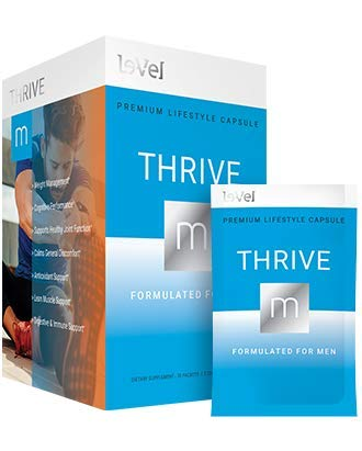 Thrive Level Men's Capsules - 30 Packets / 2 Capsules Per Packet