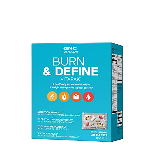 GNC Total Lean Burn & Define Vitapak