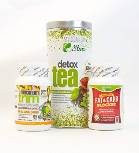 Everything That You Need to Kick Start Your weightloss Goal. Detox Kit Also Contain Fat & Carb Blocker and Garcinia Cambogia.