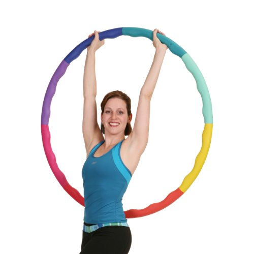 Sports Hoop Weighted Hoop, Weight Loss ACU Hoop 3L - 3.3lb (41 inches Wide) Large, Weighted Fitness Exercise Hula Hoop