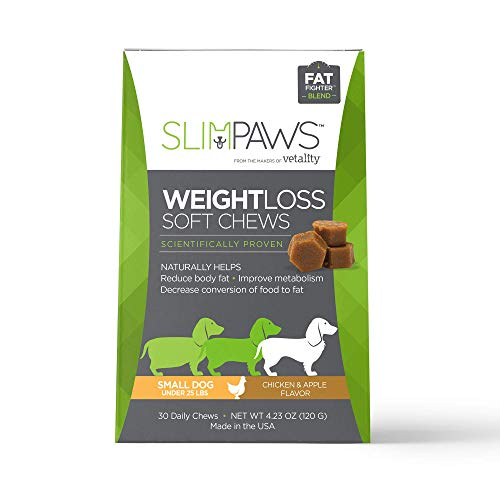 Vetality SlimPaws Weight Loss Soft Chews (Small Dogs (Under 25Lbs))