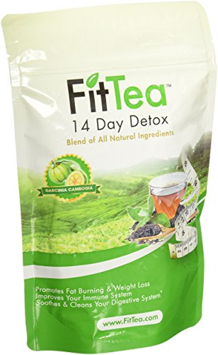 Fit tea for 14 days detox [parallel import goods]