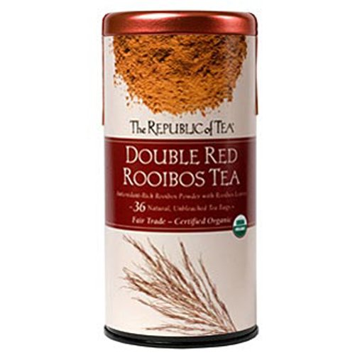 The Republic of Tea, Double Red Rooibos, 36 Count