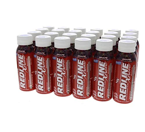 VPX Redline Xtreme, Grape, 8 Oz Bottles, 24Count