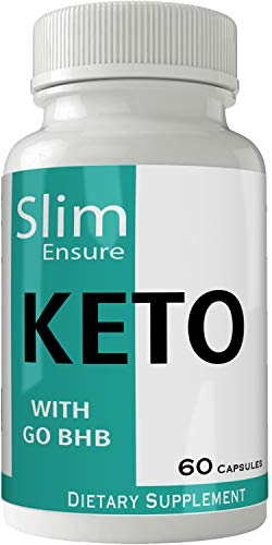 Slim Ensure Keto Diet Pills Advanced Energy Ketones with Go BHB Capsules Ketones Ketogenic Supplement for Weight Loss Pills 60 Capsules 800 MG GO BHB Salts to Help Your Body Enter Ketosis More Quickly