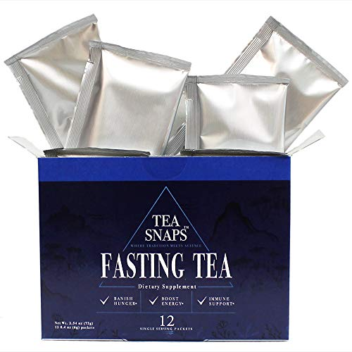 Immortalitea Diet Tea – Fasting Tea for Weight Loss – Appetite Suppressant - Boosts Metabolism with 11 Natural Herbs - 6000 mg, 8:1 Concentration, PIC/S-GMP Certified - 12 Fast Dissolving Servings