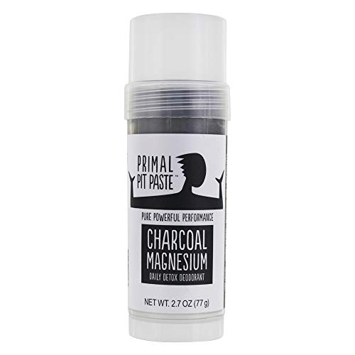 Primal Pit Paste, Deodorant Charcoal Magnesium Natural Stick, 2.7 Ounce