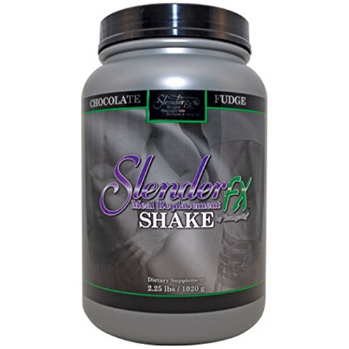 Meal Replacement Shake. Chocolate Protein Shake for Fat Loss and Muscle Gain From Youngevity and Dr Wallach. Slender Fx Whey Protein Supplement with Vitamins, Minerals and Nutrients to Help with Your Weight Management and Muscle Building Gym Program