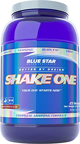 Shake ONE Whey Isolate Protein Powder: Chocolate Protein Powder with Whey Protein Isolate & MCT Oil Powder - Best Tasting and Healthiest Meal Replacement Powder, 23 Servings