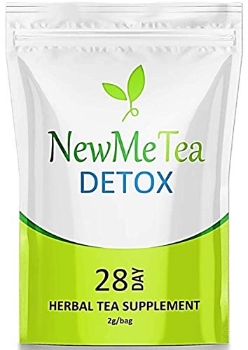28 Day (Detox Tea for Weight Loss) and Belly Fat Burner for Women- Herbal Keto Teatox to Slim Fast, Skinny Fit Body | Energy/Metabolism Booster | Bloating Relief for a Flat Tummy |Senna Detox Cleanse