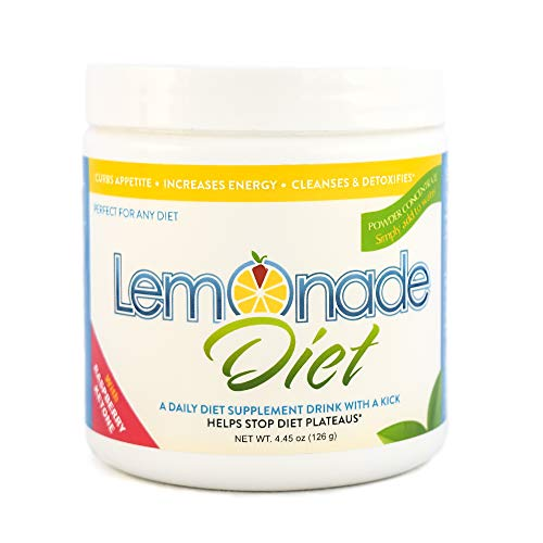 The Original Lemonade Diet Powder | Master Cleanse Weight Loss System | 100% All Natural | Metabolism Boosting Raspberry Ketones