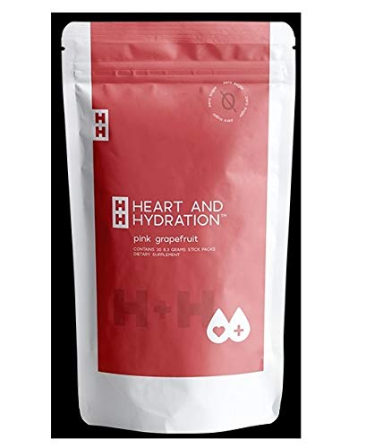 TruVision Heart & Hydration H+H Pink Grapefruit Flavor 30 Individual Packets