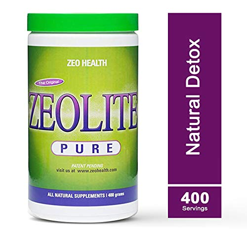 ZEOLITE PURE | Full Body Detox Cleanse | Safe, Gentle, Effective Energy Booster That Supports Gut Health, Mental Clarity, Healthy Inflammation Response | Original Zeolite Powder (400 Servings)