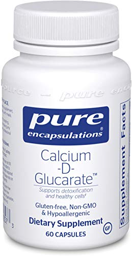 Pure Encapsulations - Calcium-D-Glucarate - Hypoallergenic Dietary Supplement to Support Cell Function - 60 Capsules