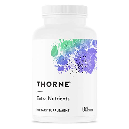 Thorne Research - Extra Nutrients - Multi-Vitamin-Mineral Supplement with Nicotinamide Riboside (Niagen) - 240 Capsules