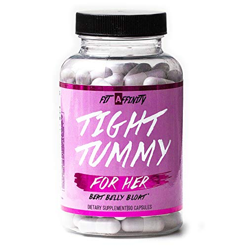 Fit Affinity Tight Tummy Reduce Bloating for Women - (90 Capsules)