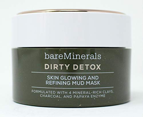 bareMinerals Dirty Detox Skin Glowing and Refining Mud Mask, 2.04 oz 0