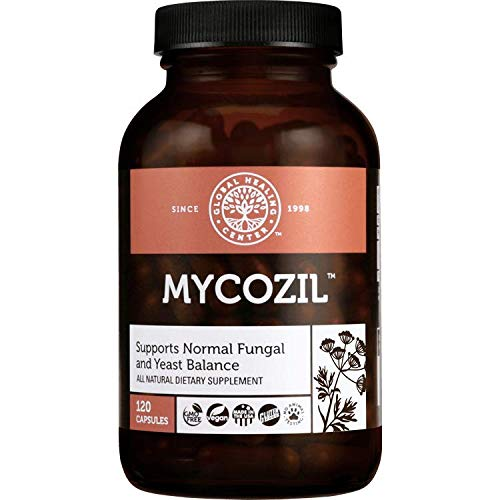 Global Healing Center Mycozil - Supports Normal Fungal and Yeast Balance, 120 Capsules