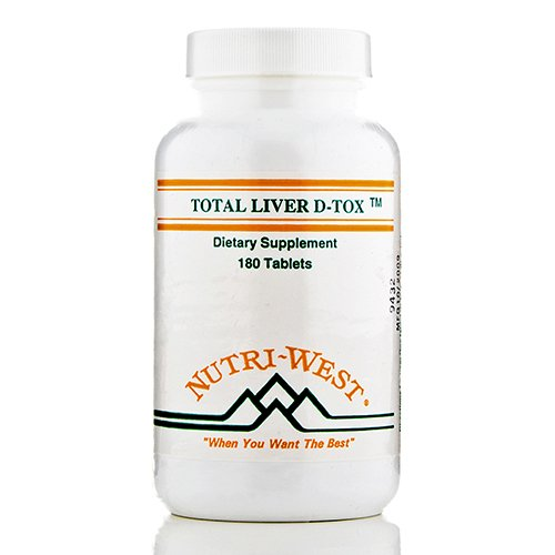 Total Liver D-Tox - 180 Tablets by Nutri West