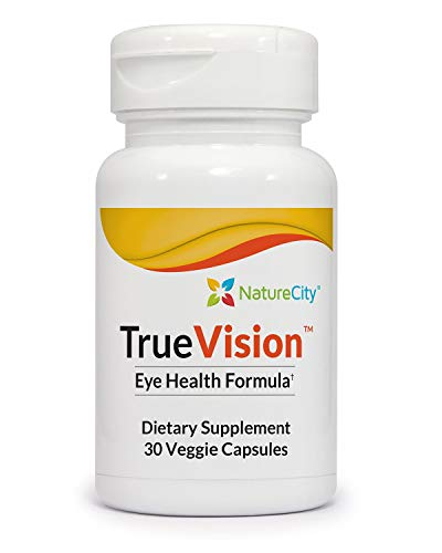 True-Vision Saffron & Lutein Eye Support Supplement AffronEYE LuteMax 20/20
