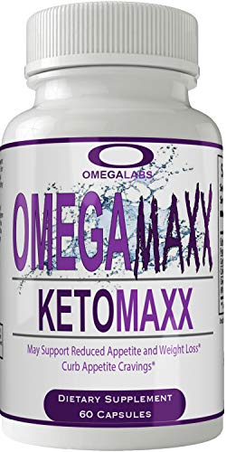 Omegamaxx Keto Pills 800mg Advanced Ketones BHB Omega Maxx Ketogenic Supplement for Weight Loss Pills 60 Capsules 800 MG GO BHB Salts to Help Your Body Enter Ketosis More Quickly