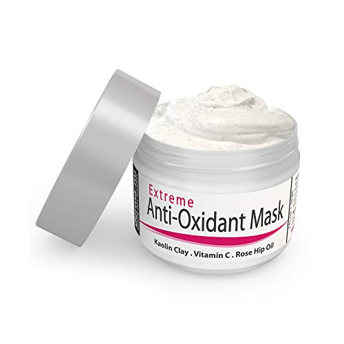 Hydrating Face Mask for Anti Aging - Natural Exfoliating & Hydrating Facial Clay Masks For Women with Hyaluronic Acid & Vitamin C - Moisturizing Anti Wrinkle Mud Detox Treatment for Dry or Sensitive S