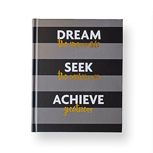 Fitlosophy Fitspiration Journal: 16 Weeks of Guided Fitness Inspiration, Dream Seek Achieve