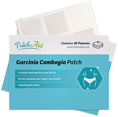 Garcinia Cambogia Topical Patch by PatchAid (1-Month Supply)