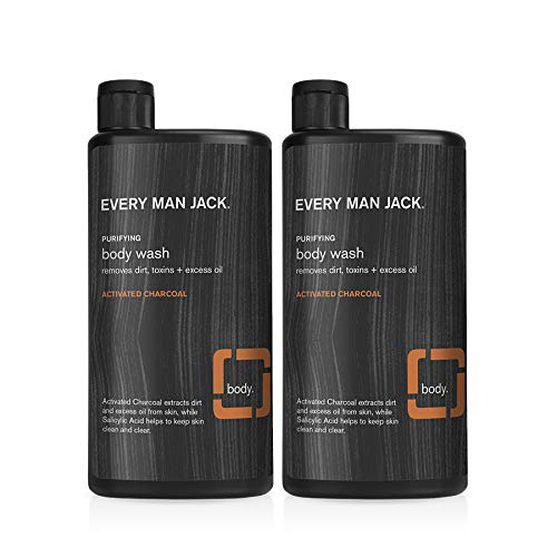 EMJ Body Wash Twin Pack (Activated Charcoal)