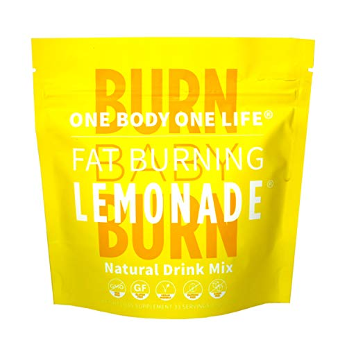 Fat Burning Lemonade All Natural Slimming Weight Loss Drink for Men & Women, Pre Workout Energy Booster Post Workout Recovery Boost Metabolism Burn Calories All Day Lose Weight Celebrity Endorsed