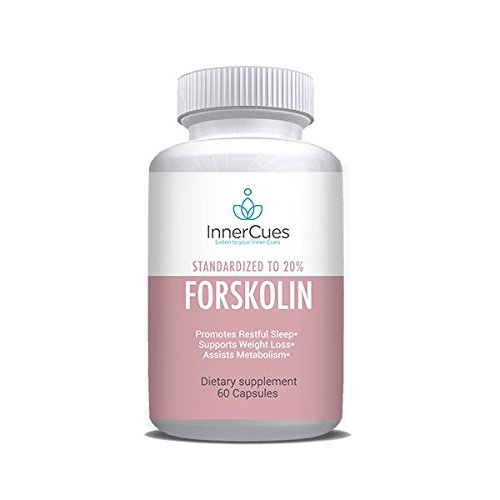 InnerCues Forskolin Max Strength -Weight Loss. Pure Forskolin Diet Pills & Belly Buster Supplement. Premium Appetite Suppressant, Metabolism Booster, Carb Blocker & Fat Burner for Women and Men …