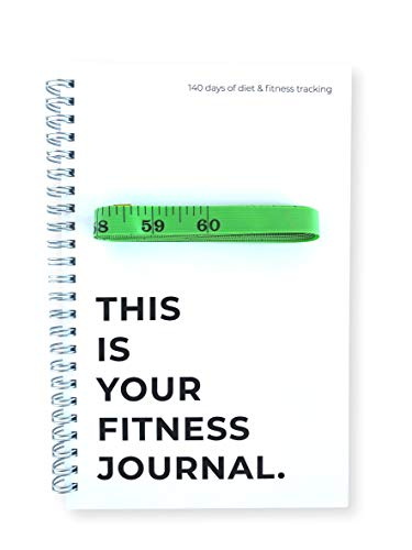 Your Fitness Journal Comes with 60' Body Measurement Tape   6' W x 9' L   - Over 145 Days of Workout Tracking and Goal Setting. Easily Keep Track of Your Workouts and Body Measurements.