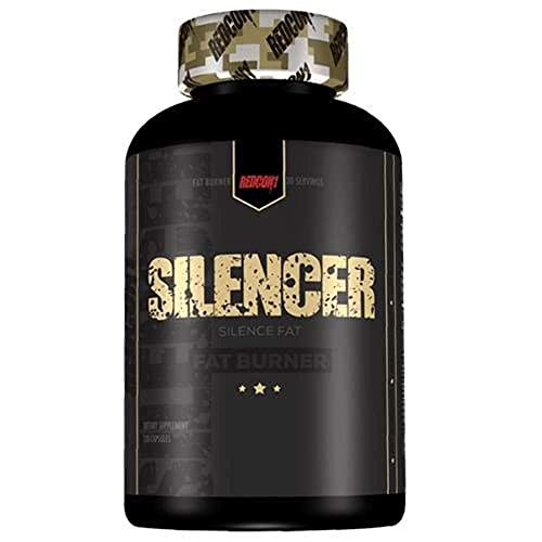 Redcon1 - Silencer, 120 Capsules, 30 Servings, Non Stimulant Fat Burner, No jitters, No Anxiety, Destroy Fat While You Rest or Sleep