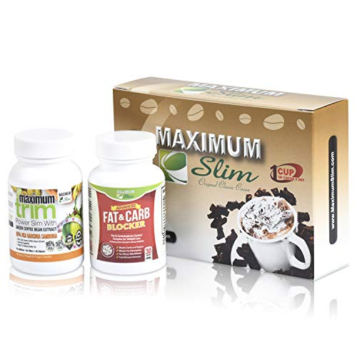 Jump Start Your Weight Loss with The Maximum Slim kit. Includes Classic Cocoa, Fat & Carb Blocker & Garcinia Cambogia. Everything Thing You Need to Boost Your Metabolism