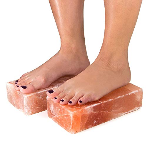 Black Tai Salt Co. New 2 Pack of 100% Authentic Himalayan Salt Detox 4x8x2 Foot Bricks Free and Fast Shipping!