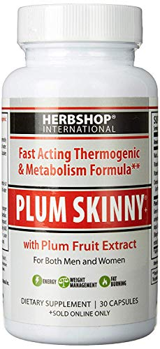 Plum Skinny 30 Capsules, One A Day, Dietary Supplement, for Both Women and Men