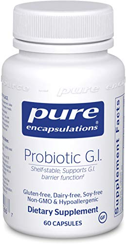 Pure Encapsulations - Probiotic G.I. - Shelf Stable Probiotic Blend to Support Healthy Immune Function Within The Gastro Intestinal Tract - 60 Capsules