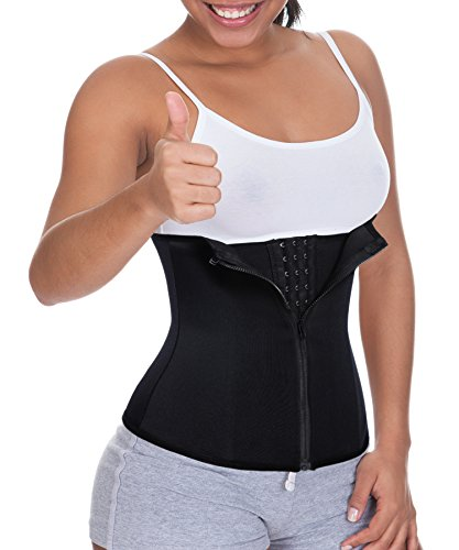 Weight Loss Waist Trainer Slim Plus Size Corset for Weight Loss Women Tummy Control with Zipper Body Shaper Shirt