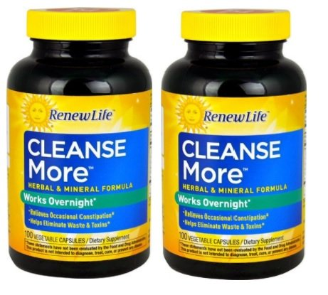 Renew Life - Cleanse More, 100 Caps (Set of 2)
