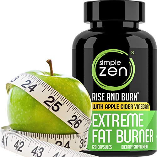 Simple Zen Metabolism Booster for Weight Loss Pills with Apple Cider Vinegar Appetite Suppressant and Green Tea Fat Burner. Best Natural Diet Pills for Women + Men. Supplements with Garcinia Cambogia