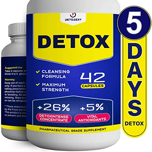 Liver Detox, Urinary Tract & Kidney Cleanse - Immune System Support - BIO-Cleanse - 42 Vegetarian Capsules