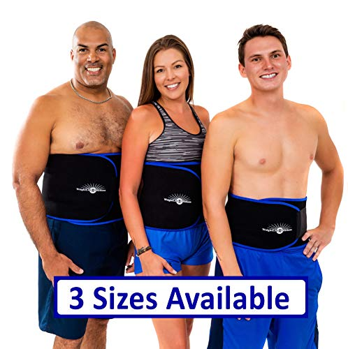 WeightLoss-Solutions Waist Trimmer Sauna Belt for Men and Women – Waist Trainer Slimming Sweat Belt to Help You Lose Belly Fat and get a Slimmer Waist.