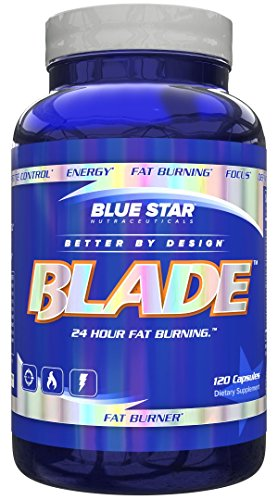 Blue Star Nutraceuticals - Blade Pharmaceutical Grade Fat Burner - 120 Capsule (3)