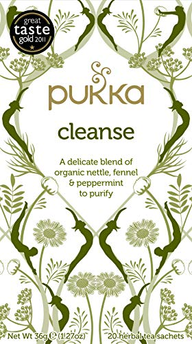 Pukka Organic Teas, Cleanse, 20 Count