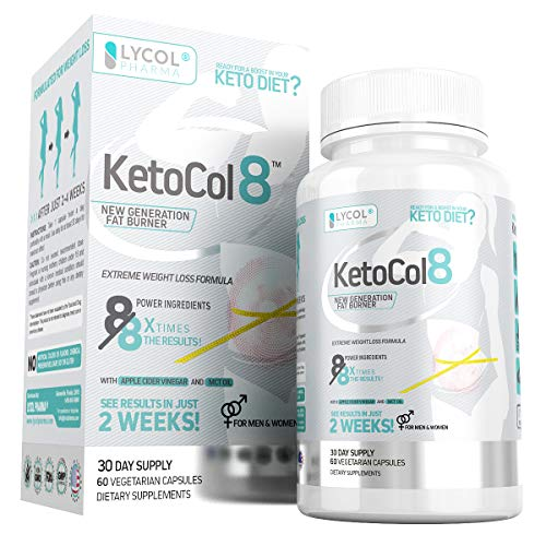 KetoCol8 Keto BHB Pills with Apple Cider Vinegar Capsules BHB Salts for Women and Men 15 Billion CFU Ultimate Keto Diet Supplement Triggers Ketosis Boost BHB Production and Utilizes Fat for Energy
