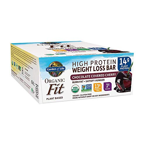 Garden of Life Organic Fit Bar Chocolate Covered Cherry (12 per carton)