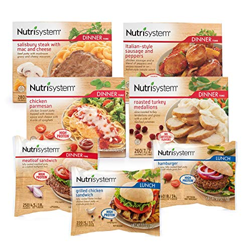 Nutrisystem Meat Lovers Variety Pack, 10 Count (Frozen)