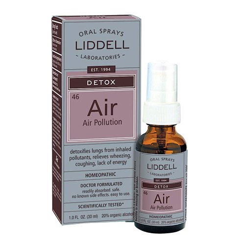 Liddell Homeopathic Detox Air Pollution, 1 Ounce
